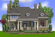 Traditional Style House Plan - 4 Beds 3.5 Baths 4311 Sq/Ft Plan #48-244 Exterior - Front Elevation