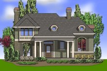 Architectural House Design - Traditional Exterior - Front Elevation Plan #48-244
