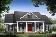 Dream House Plan - Country style home, farmhouse design, elevation