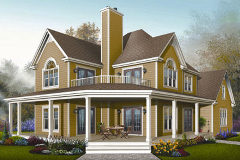 Traditional Exterior - Front Elevation Plan #23-871