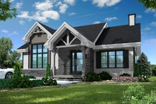 House Plan Design - Craftsman Exterior - Front Elevation Plan #23-2664