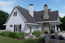 Architectural House Design - Right Rear
