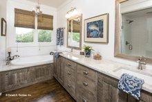 Country Interior - Master Bathroom Plan #929-8