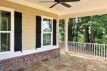 Farmhouse Exterior - Covered Porch Plan #437-92