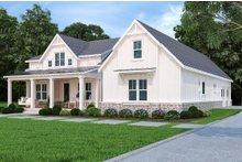 House Plan Design - Farmhouse Exterior - Front Elevation Plan #119-434