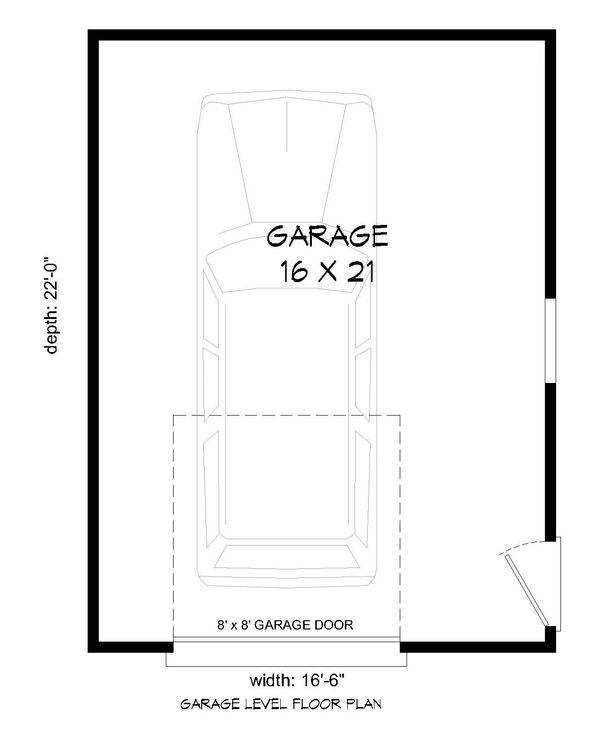 Country Floor Plan - Main Floor Plan Plan #932-155