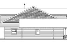 Bungalow Exterior - Other Elevation Plan #124-736