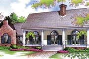 European Style House Plan - 3 Beds 2 Baths 1672 Sq/Ft Plan #45-271 Exterior - Front Elevation