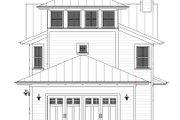 Farmhouse Style House Plan - 3 Beds 2.5 Baths 2170 Sq/Ft Plan #901-140 Exterior - Rear Elevation