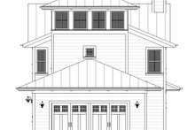 House Plan Design - Farmhouse Exterior - Rear Elevation Plan #901-140