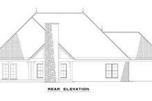 Dream House Plan - European Exterior - Rear Elevation Plan #17-2549