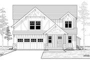 Craftsman Style House Plan - 3 Beds 2.5 Baths 1698 Sq/Ft Plan #53-525