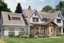 House Design - Farmhouse Exterior - Front Elevation Plan #51-1162