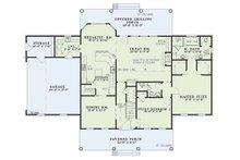 Colonial Floor Plan - Main Floor Plan Plan #17-2068