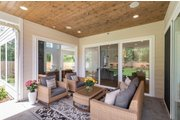Contemporary Style House Plan - 4 Beds 2.5 Baths 3384 Sq/Ft Plan #1066-121 Exterior - Outdoor Living