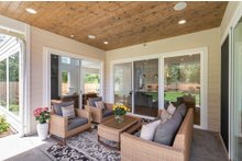 Contemporary Exterior - Outdoor Living Plan #1066-121