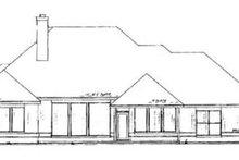 Home Plan Design - Exterior - Rear Elevation Plan #52-133