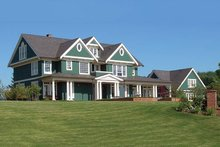 Architectural House Design - Colonial Exterior - Front Elevation Plan #48-151