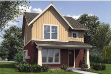 House Design - Craftsman Exterior - Front Elevation Plan #48-493