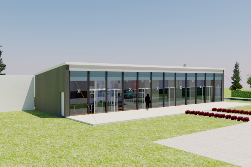 Home Plan - Modern Exterior - Front Elevation Plan #542-11