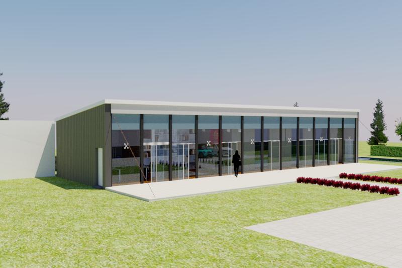 Dream House Plan - Modern Exterior - Front Elevation Plan #542-11