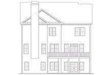 Dream House Plan - European Exterior - Rear Elevation Plan #419-156