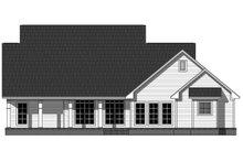 Dream House Plan - Farmhouse Exterior - Rear Elevation Plan #21-452
