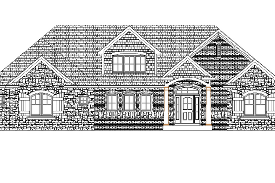 Traditional Exterior - Front Elevation Plan #49-241