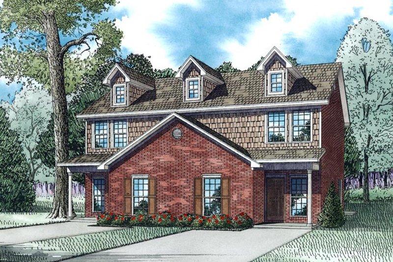 House Design - Ranch Exterior - Front Elevation Plan #17-3418