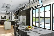 Cottage Style House Plan - 3 Beds 2 Baths 1725 Sq/Ft Plan #406-9660 Interior - Dining Room