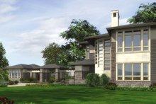 Modern Exterior - Other Elevation Plan #132-221