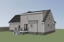 House Plan Design - Cottage Exterior - Other Elevation Plan #79-158