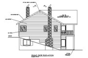Modern Style House Plan - 2 Beds 2 Baths 2084 Sq/Ft Plan #117-431 Exterior - Other Elevation