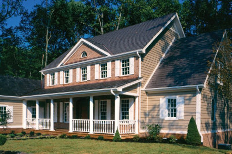Colonial Exterior - Other Elevation Plan #429-21 - Houseplans.com