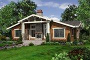 Craftsman Style House Plan - 2 Beds 2 Baths 1249 Sq/Ft Plan #132-194