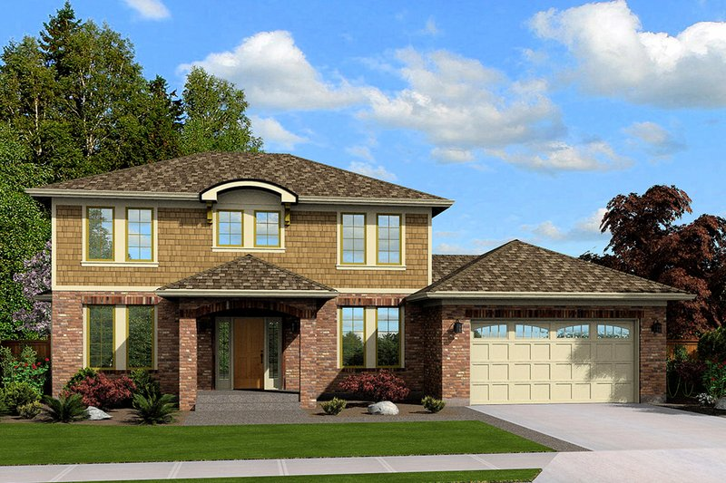 Traditional Exterior - Front Elevation Plan #46-871