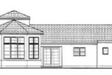 Dream House Plan - European Exterior - Rear Elevation Plan #72-130