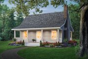 Cottage Style House Plan - 2 Beds 1 Baths 800 Sq/Ft Plan #21-169