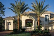 Mediterranean Style House Plan - 5 Beds 6 Baths 5816 Sq/Ft Plan #930-15 Exterior - Other Elevation