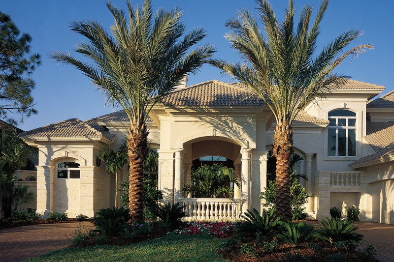Mediterranean Exterior - Other Elevation Plan #930-15 - Houseplans.com