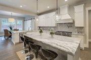 Cottage Style House Plan - 4 Beds 3.5 Baths 4420 Sq/Ft Plan #132-568 Interior - Kitchen