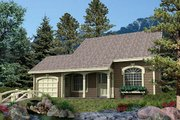 Cottage Style House Plan - 4 Beds 2 Baths 1330 Sq/Ft Plan #57-156