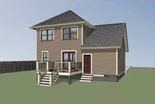 Architectural House Design - Cottage Exterior - Other Elevation Plan #79-123