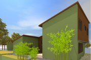 Modern Style House Plan - 3 Beds 2.5 Baths 1693 Sq/Ft Plan #450-5 Exterior - Other Elevation