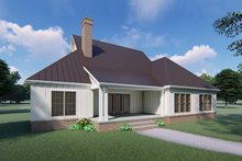 Farmhouse Exterior - Rear Elevation Plan #923-120
