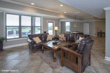 Dream House Plan - Lower Level Family Room Build 2