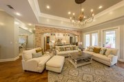Prairie Style House Plan - 3 Beds 3.5 Baths 2476 Sq/Ft Plan #930-463 Interior - Family Room