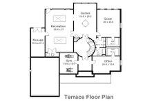Classical Floor Plan - Lower Floor Plan Plan #119-113