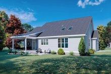 House Plan Design - Cottage Exterior - Rear Elevation Plan #929-1129