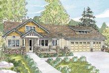 Craftsman Exterior - Front Elevation Plan #124-753